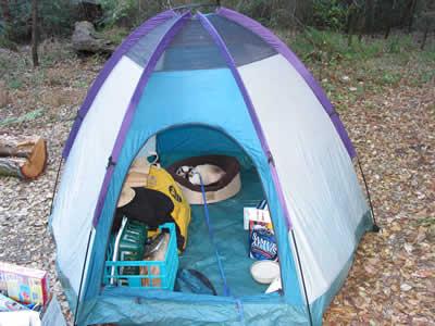 Sophia Goes Camping